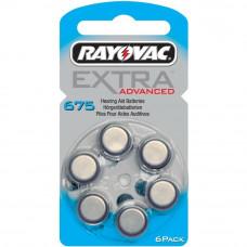 Батарейка Rayovac EXTRA №675