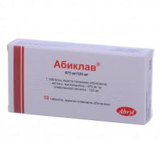 Абиклав таблетки 875мг/125мг №10